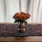 Vintage Hand Needle Table Liner _04(ヴィンテージ 刺繍 テーブルライナー/テーブルクロス/タペストリー)