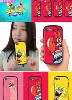 ★韓国人気★スポンジボブ iphoneケース★