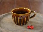 飴釉コーヒーカップ(面)