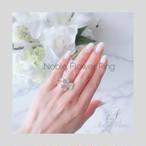Noble Flower Ring(フリーサイズ)