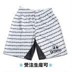 プラクティスパンツ「gene-pants」(ホワイト/HP-031)☆受注生産可☆