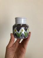 北欧 Laholm Keramik ミニフラワーベース ヴィンテージ