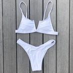 Bikini♡フロントカットアウトビキニ ホワイト
