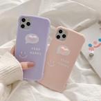 【オーダー商品】 Smiley love heart iphone case