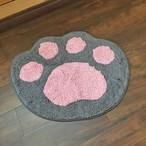 ミニマット猫の手(ブラック)肉球のマット