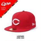 【7月24日発売】 NEWERA(ニューエラ)59FIFTY キャップ CARP Lerpard SHAPPO Limited / RED 11331462