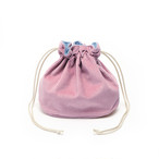 Reversible Bag/Smokypink&Blue