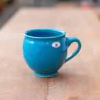 【再入荷・新色入荷】北欧デンマーク/ヘンリックさんマグカップ/白・黒・茶・紺・ターコイズ