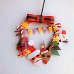 クラフトリース手作りキット【クリスマス】