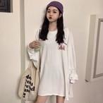 【tops】イレギュラー簡約スタイル合わせやすいTシャツ 23872912