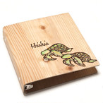Wood File A4 [one point Honu]