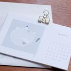 【販売終了】井上 淳 オリジナルカレンダー2019 「いえのこと。」「くらすこと。」