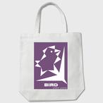 birdpurple わしかオリジナルトート (白orベージュ)※送料無料