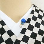 半衿ピン【ポジュシリーズ】パール【ブルー】