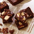 3種のチョコレートのブラウニー