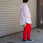 【sandglass】transform shirt(pink) / 【サンドグラス】トランスフォーム シャツ(ピンク)