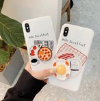 【オーダー商品】3D egg pizza iphone case