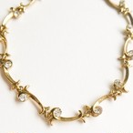 """AVON"" Extraordinary Briolette Vine bracelet[h-72]"