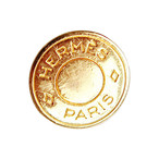 【VINTAGE HERMES BUTTON】セリエ ゴールド ボタン 1.2cm HM-19003