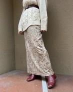 (PAL) paisley tight skirt