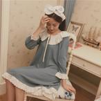 girly retro loose negligee 2919