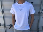 【6/26 21:00再入荷】ThreeArrows Message Tシャツ(vintage white)