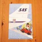 【スウェーデン】 ポストカードL「SASとドライブ」1960年代 Come to Sweden/カムトゥスウェーデン