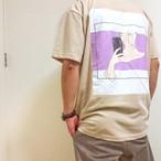 Goodday to smile Tシャツ(カラー:サンドベージュ)