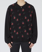 FLOWER KNIT POLO