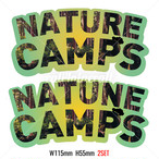 ステッカー NATURE CAMPS C4C-ST205 ★2SET