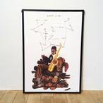 【ポスター】John Coltrane by Brad Howe