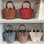 Leather bag 上品 トート スクエア ハンドバッグ シンプル キレイ ミニ レザー 多色 赤 ブラウン 白 黒 通勤 オフィス デート ms-tb-1201