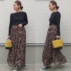 レオパード柄 スカート