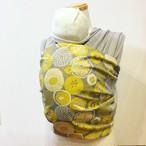 WA wrap/グレー黄色北欧