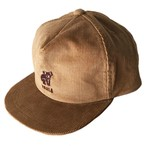 KOALA CORD TRUCKER / Beige×Brown