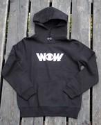WOWパーカーキッズ 黒(送料込み)