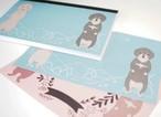 【チャリティー商品】ダックス メモ帳 〈2柄 60ページ〉