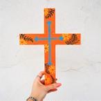 Wood Cross《ORANGE》