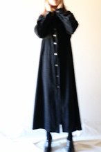Vintage black corduroy dress