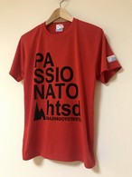 hs-19 ACTIVE 『PASSIONATO』 T-SHIRT ・レッド