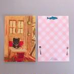 POST CARD「窓辺の席でランチ」no.170