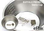 efim エフィム Sierracup BUFFALO PROJECT bp-sc-1 シェラカップ キャンプ 用品 ステンレス テーブル ウェア 料理 クッキング アウトドア グッズ 食器 おしゃれ バーベキュー トレッキング テント ハイキング