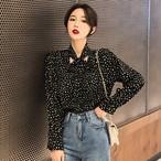 【tops】リボン付きファッション合わせやすいシャツ26902842