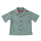 K'rooklyn Exclusive Kids Shirts -Navy & Yellow-(110cm)