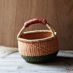 ガーナの手編み ボルガバスケット / 小 Q