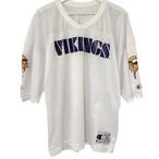 90's Champion Football T Mesh Minesota VIKINGS【XL】