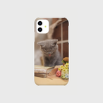 あくびする子猫2のiphoneスマートフォンケース【送料無料】