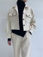 カジュアルキャンバスジャケット ジャケット 韓国ファッション
