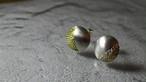 月のピアス moon earrings