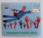 人道支援郵便 / 国連 2007
